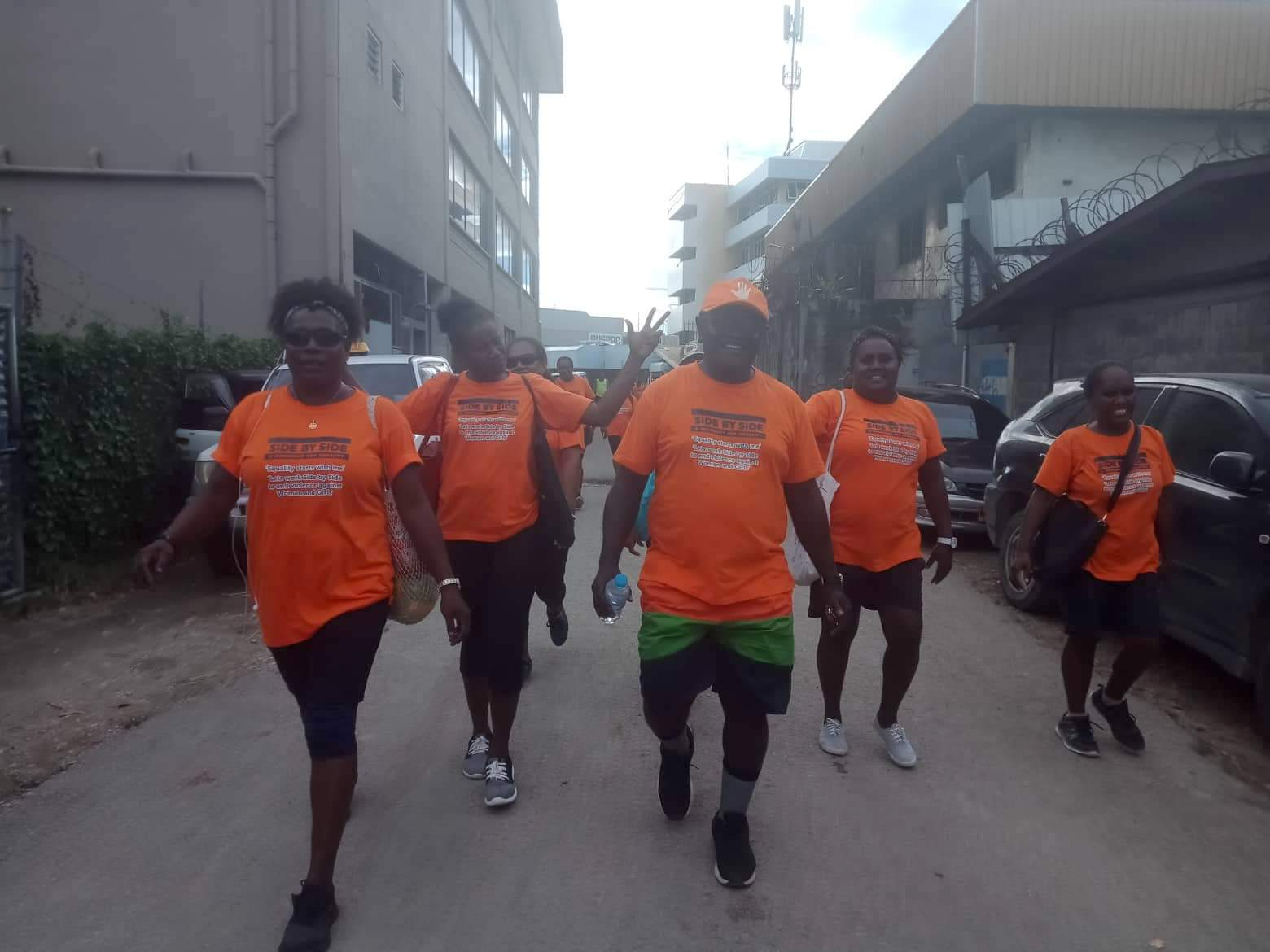 MWYFCA Promotes Physical Fitness Among Staff