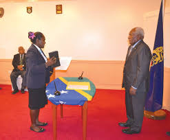 Tanangada sworn in as Minister for Women, Youth, Children and Family Affairs