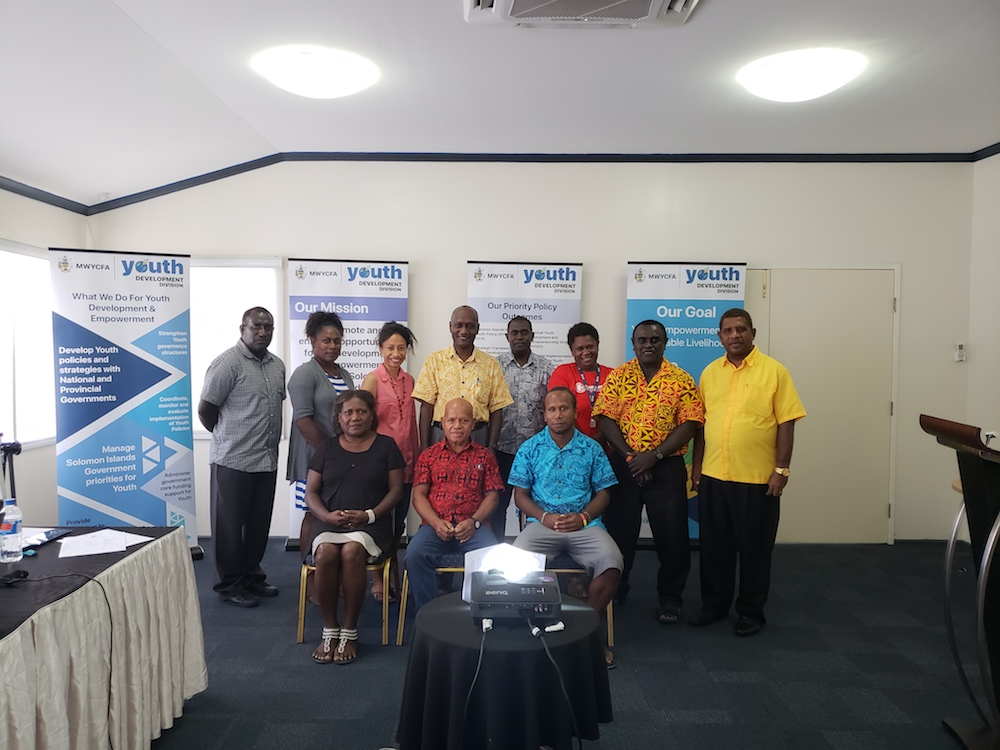 Solomon Islands National Youth Congress elects new Board
