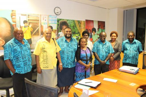 CRC Dialogue Delegation Suva2018